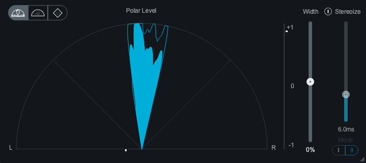 Mastering Stereobreite Meter Polar Level
