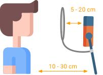 Popkiller Abstand Mikrofon