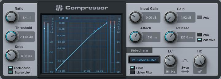 Kompressor Aus Studio One
