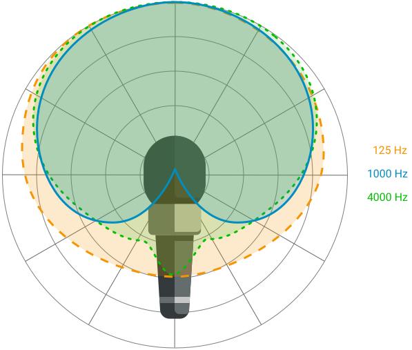 Richtcharakteristik Frequenzabhängig 1