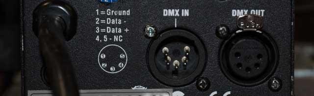 Dmx Input Output Pult
