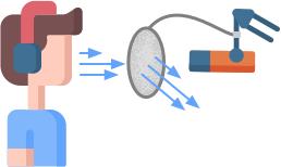 Popkiller Popschutz Metall Funktionsweise
